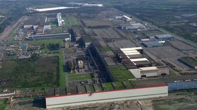 TATA Steel Strip Products, Port Talbot, UK -