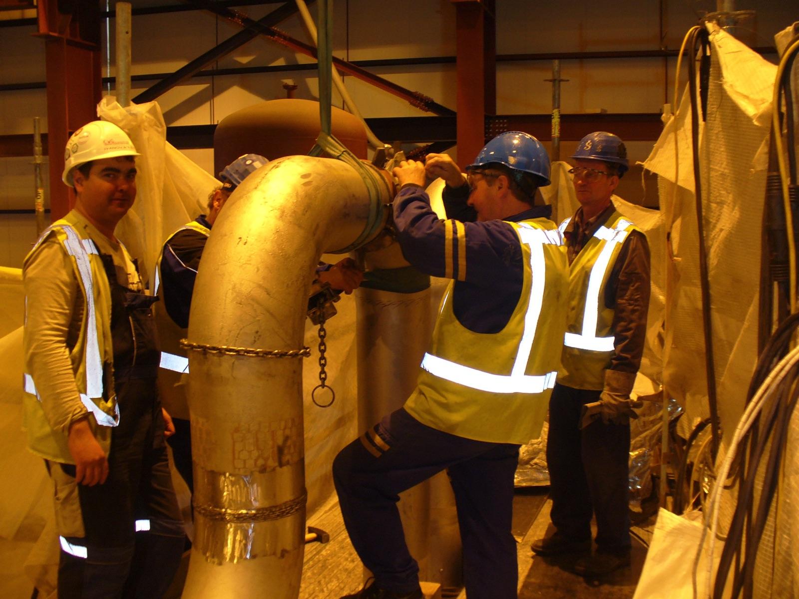 TPP-2 Reconstruction Project Second Unit, Riga, Lotyšsko -